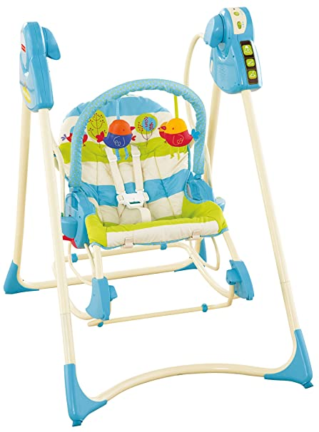 Fisher-Price Smart Stages - columpio, asiento y basculante 3 en 1