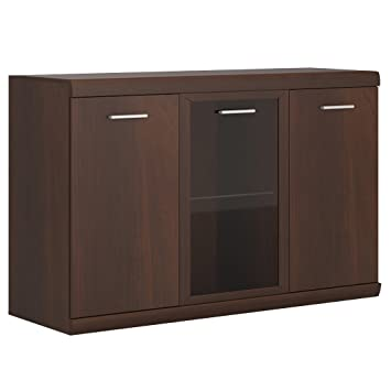 Furniture To Go Imperial 3 Door Glazed Sideboard 140 X 90 X 46 Cm