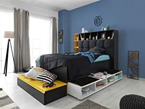 Renq Furniture Full Size Bedstead and Bookcase Endless