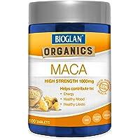 Bioglan BG Organics Maca Tablets 100s, 0.17 Kilograms