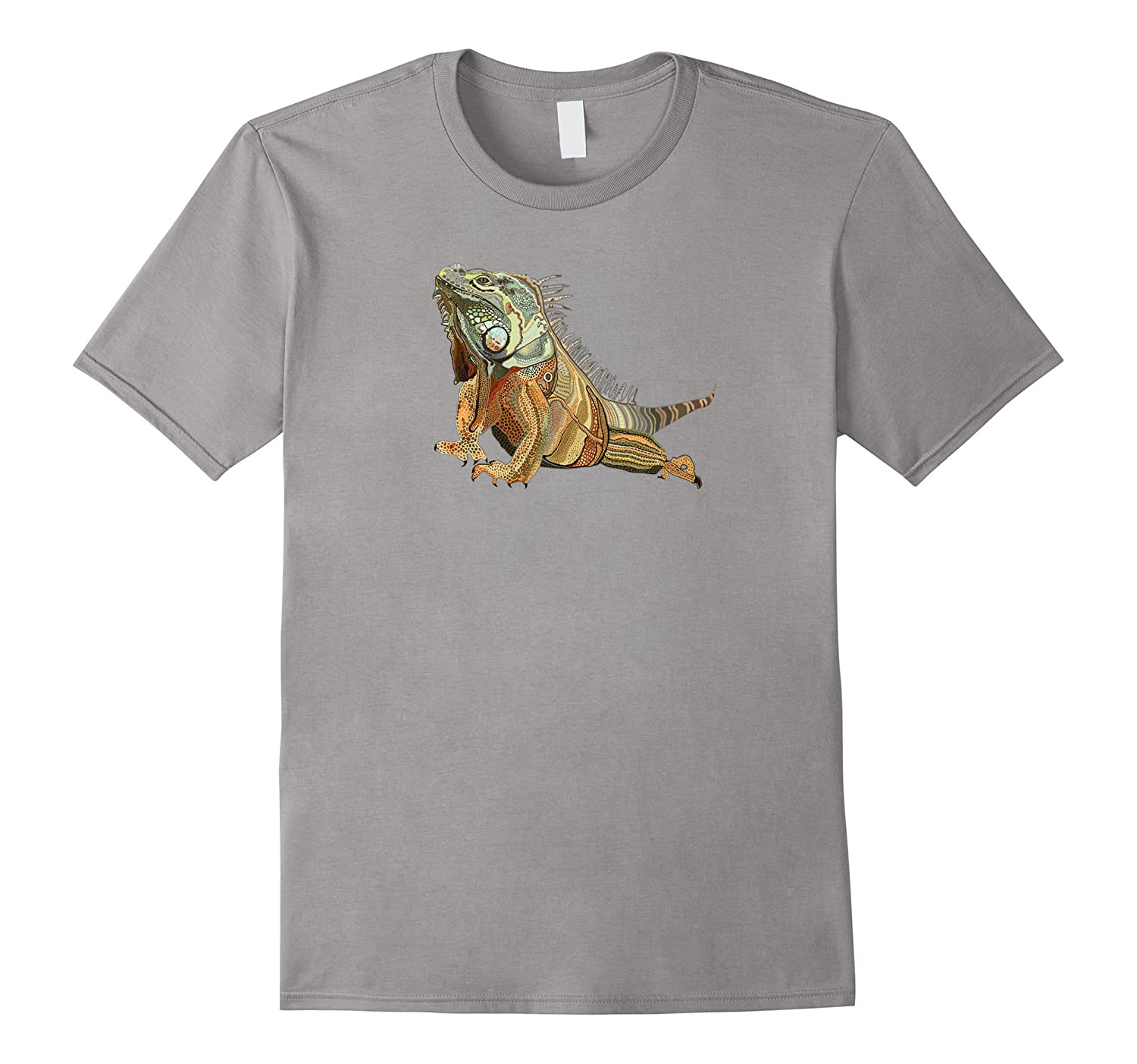 Apollo-Hand Drawn Lizard-Cool Bearded Dragon T Shirt Art-CD
