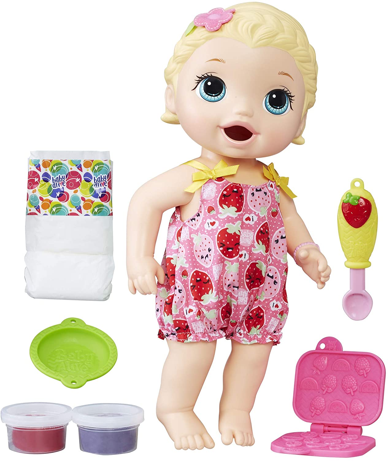 Baby Alive spuntino Lily BOULEVARD Capelli