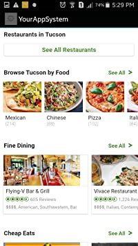 Amazon Com Restaurants In Tucson Us Appstore For Android