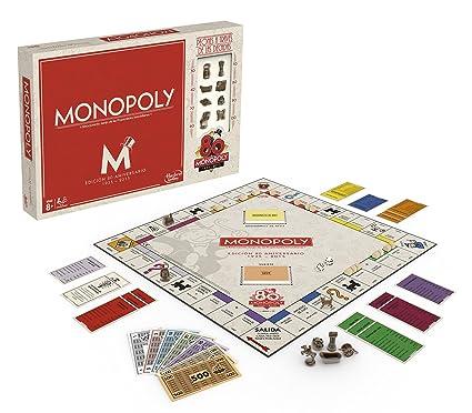 Hasbro Gaming (B0622105) - Monopoly 80 Aniversario, Juego de Mesa