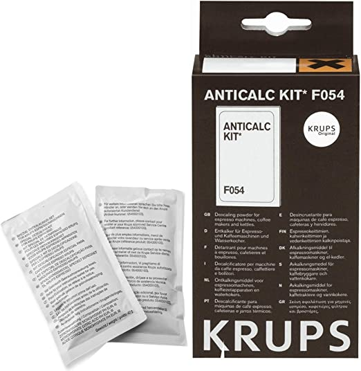 Krups F0540010 Kit Descalcificación, Plastic, Multicolor: Amazon ...