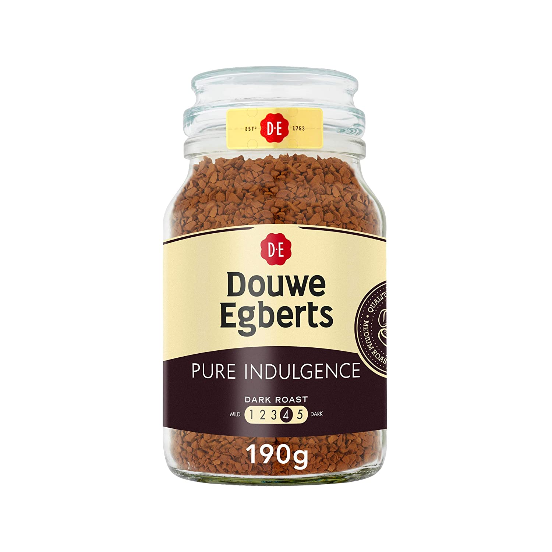 Amazon Com Douwe Egberts Pure Indulgence Instant Coffee In Jar Dark Roast 7 05 Ounce 200 Gram Grocery Gourmet Food