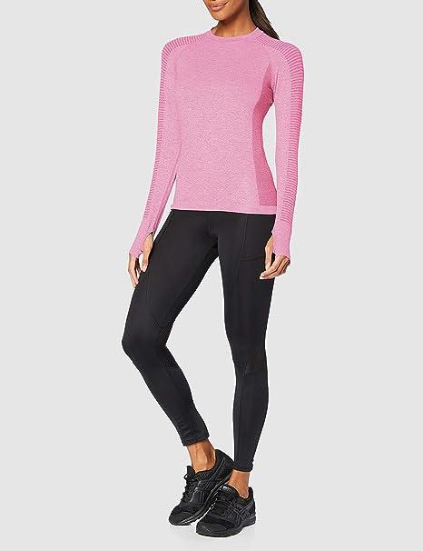 AURIQUE Womens Seamless Long Sleeve Sports Top Brand