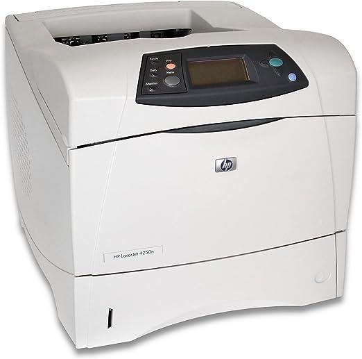 HP Impresora HP LaserJet 4250n - Impresora láser (Láser monocromo, 200000 páginas por mes, 43 ppm, 43 ppm, Menos de 8 segundo, 64 MB): Amazon.es: Informática