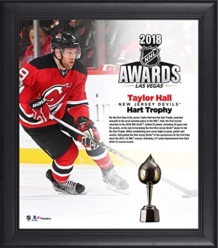 Amazon.com: Taylor Hall New Jersey Devils Framed 15\