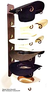 Mark Christopher Collection American Made Cowboy Hat Holder Star 886 6 Tier Hat  Rack 8368b334e40c