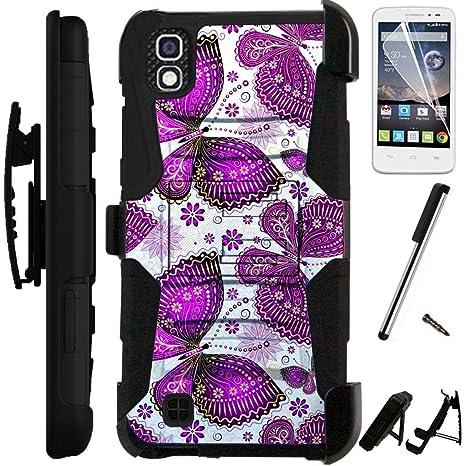 Amazon.com: Para LG Tribute HD Case/Carcasa para LG X Style ...