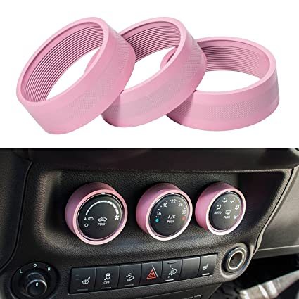 amazon e cowlboy interior audio air conditioning button cover 2015 Jeep Wrangler Unlimited Changes e cowlboy interior audio air conditioning button cover decoration twist switch ring trim for jeep