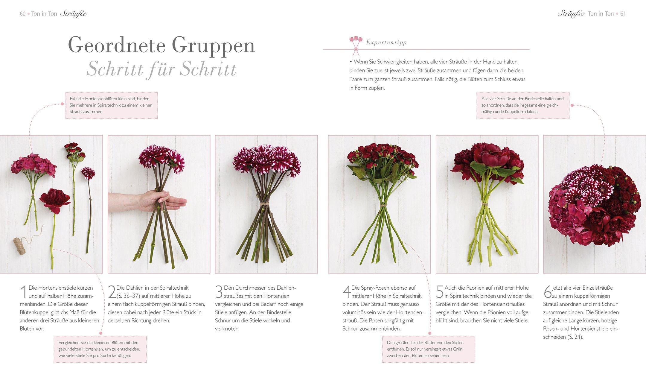Blumen Fantasievoll Arrangieren Strausse Gestecke Kranze Amazon