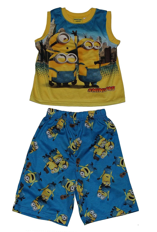Minions Boys Minion 2-Piece Short Pajama Set