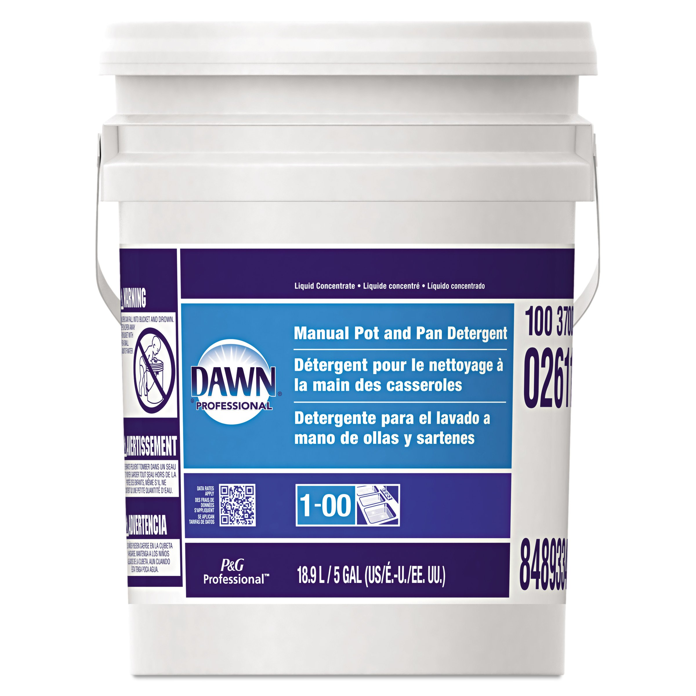 Dawn Professional Pot and Pan Detergent, Regular Scent, 5 Gallons