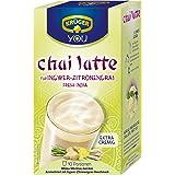 Krüger Chai Latte Fresh India, Té con Leche, Jengibre-Hierbaluisa, 10 Bolsas