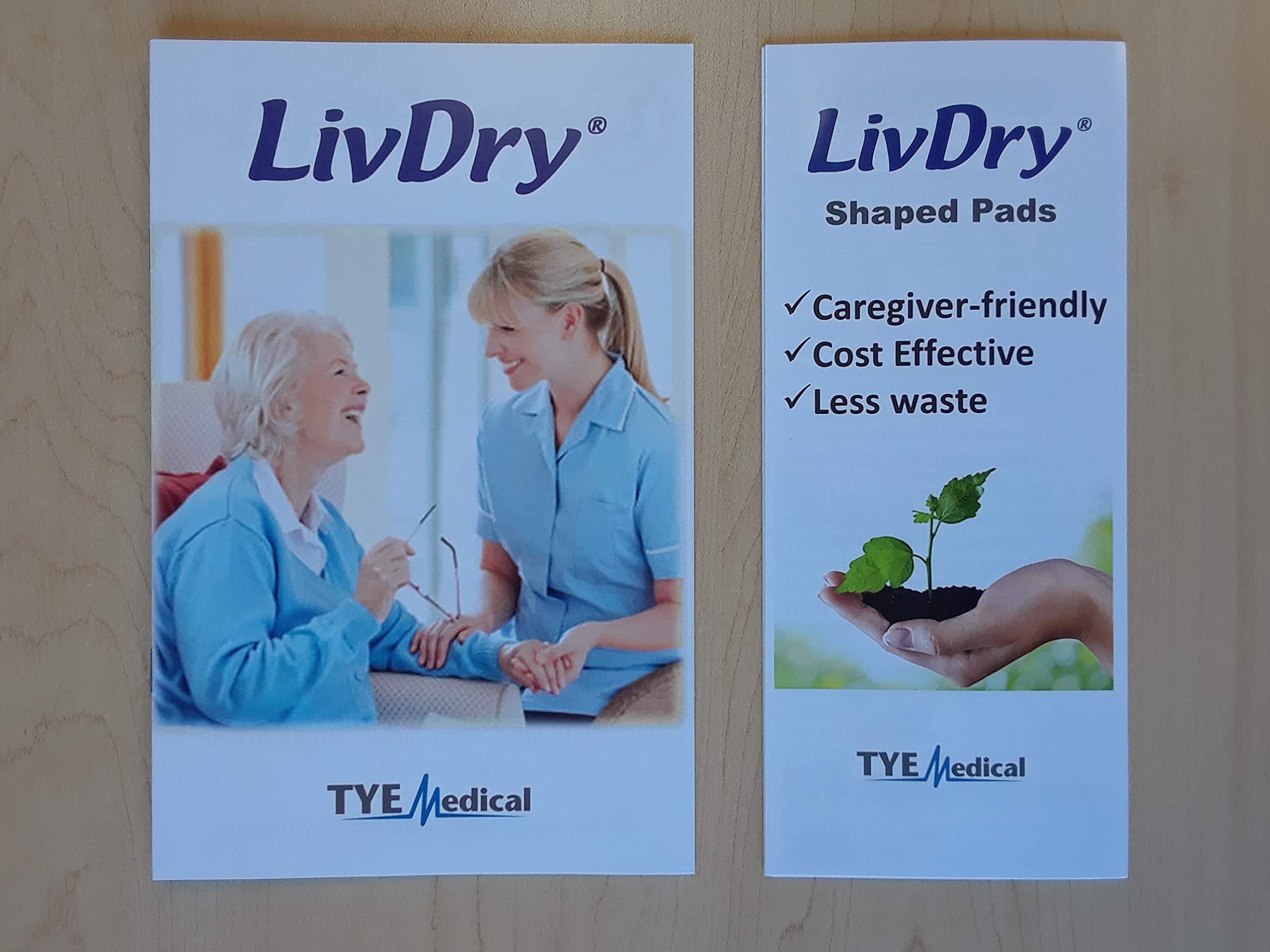 LivDry Premium Brief - Free Sample Pack, M&L (x1 Medium Briefs, x1 Large Briefs, x1 Pad Super, x1 Pad Hyper, x1 Pad Hyper Plus) by LivDry (Image #7)