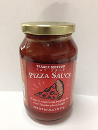 amazon com trader joe s trader giotto s fat free pizza sauce