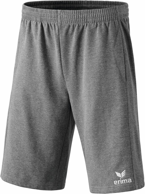 Erima Kinder Sweathose 5-C Basic Pants kurz