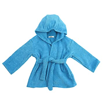 Image Unavailable. Image not available for. Color  My Blankee Organic  Hooded Bath Robe ... 9d017f769