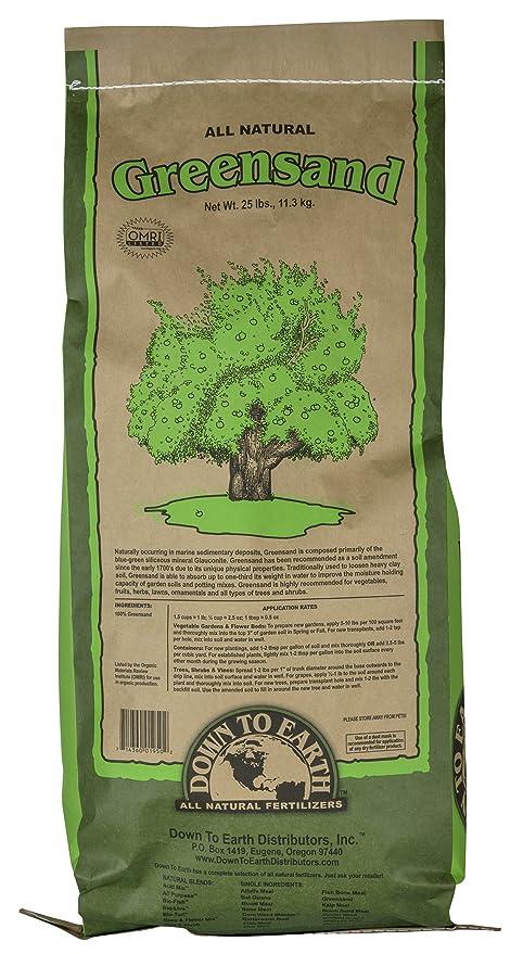 Amazon.com : Down To Earth Greensand, 25 Pound : Fertilizers ...