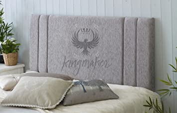 Trendmakers Silver Grey Luxury Quality 4ft6 Standard Double 135cm