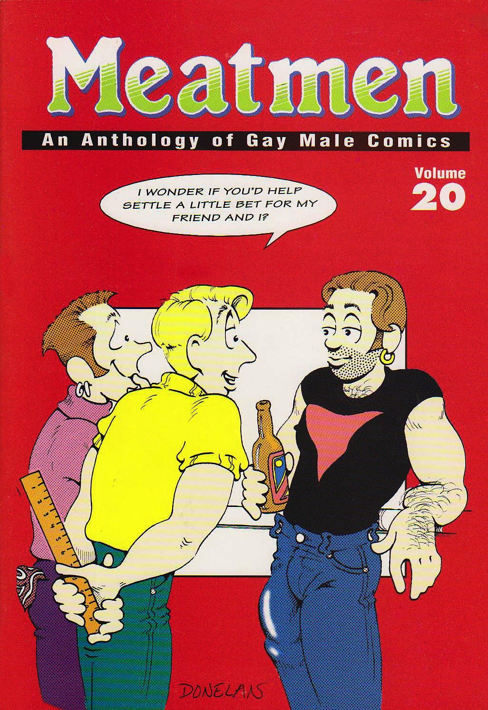 Amazon Com Meatmen Anthology Of Gay Male Comics Volume 20 9780943595634 Winston Leyland Books