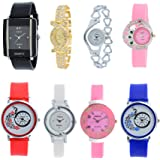 Codice Analogue Multicolor Dial Women's Watch - Codice-Combo-08-Girls-Watch-Jewelex