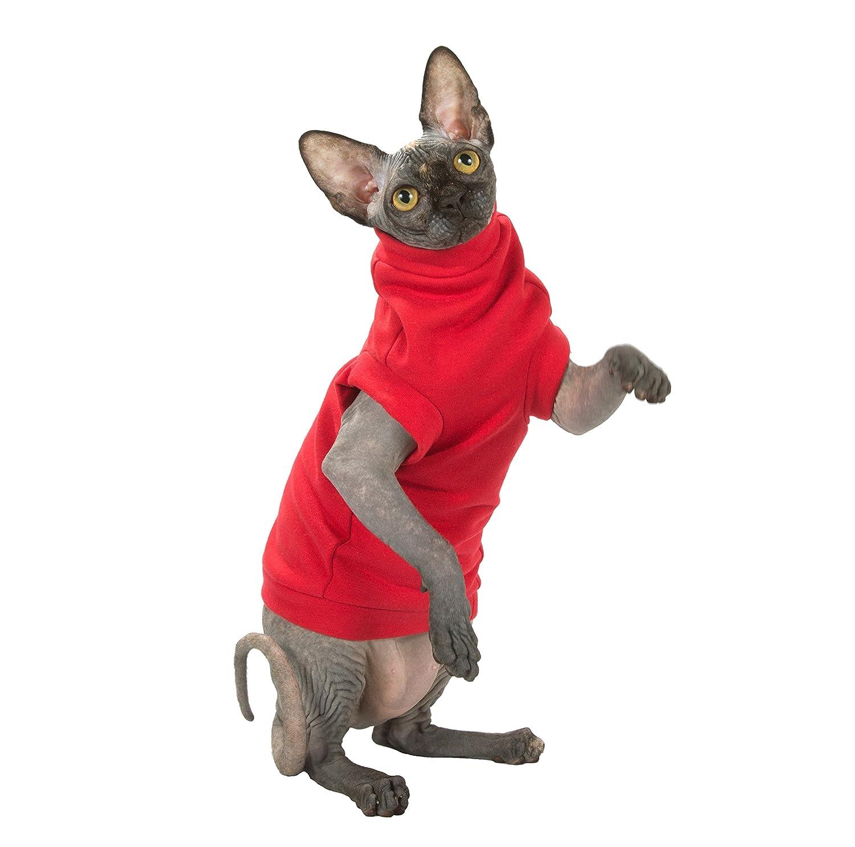 Kotomoda ropa para gatos INVIERNO EN ROJO (S)