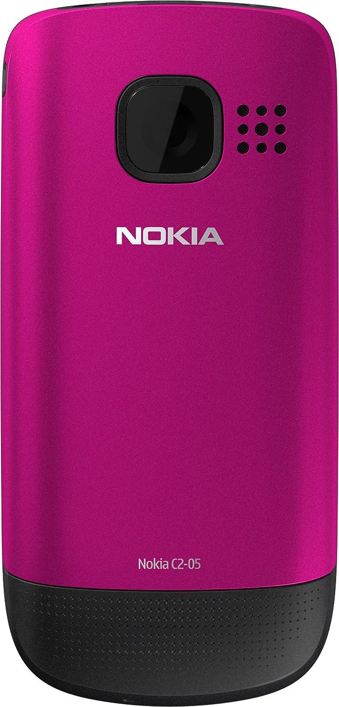 Nokia C2-05 Slider T/él/éphone portable /Écran 5,1 cm 2 Appareil photo VGA Bleu import europe