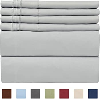 CGK Unlimited 6-Piece Queen Extra Deep Pocket Sheet Set
