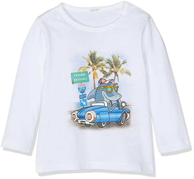 Camiseta para Beb/és United Colors of Benetton T-Shirt L//S