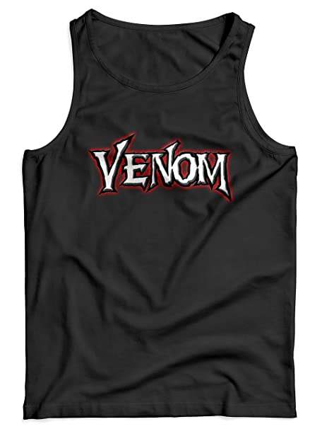 LaMAGLIERIA Camiseta de Tirantes Hombre Venom - 100% algodòn: Amazon.es: Ropa y accesorios