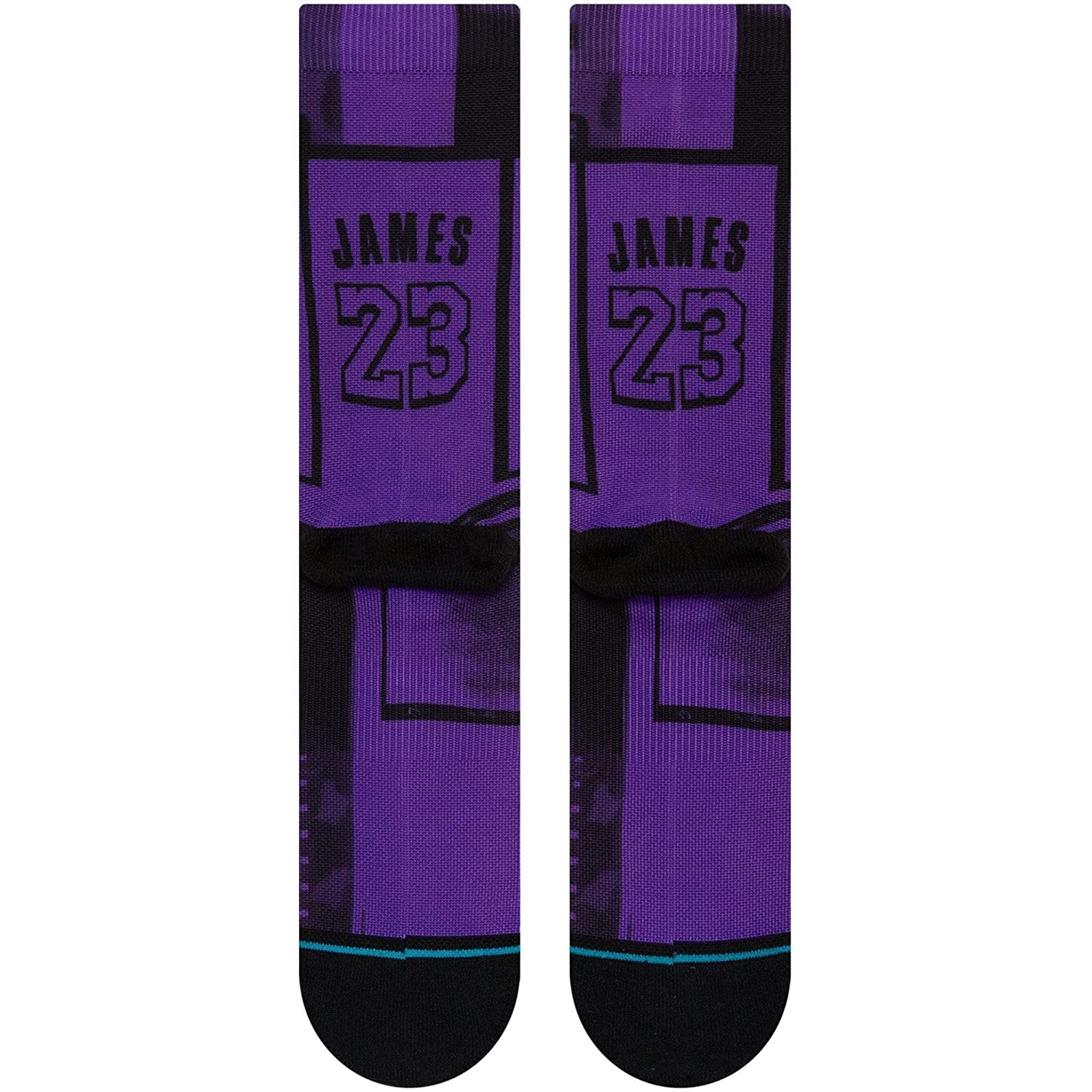 Stance Calcetines Nba Los Angeles Lakers LeBron James Lbj 2 La Morado 43-46 EU: Amazon.es: Ropa y accesorios