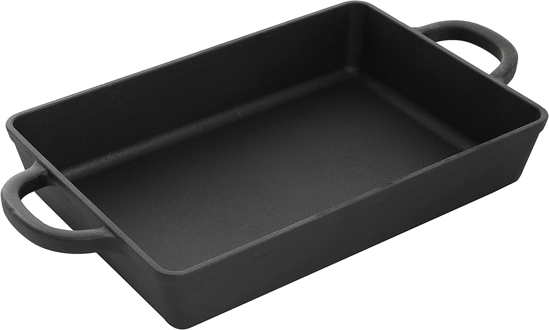 Crock Pot 111996.01 Artisan 10 Inch Preseasoned Enameled Cast Iron Square Grill