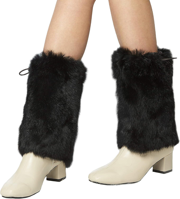 Fur Story Fur Leg Warmers Real Fur