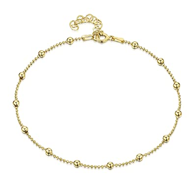 link chain gold bracelet image singapore pin anklet the ankle inch visit yellow