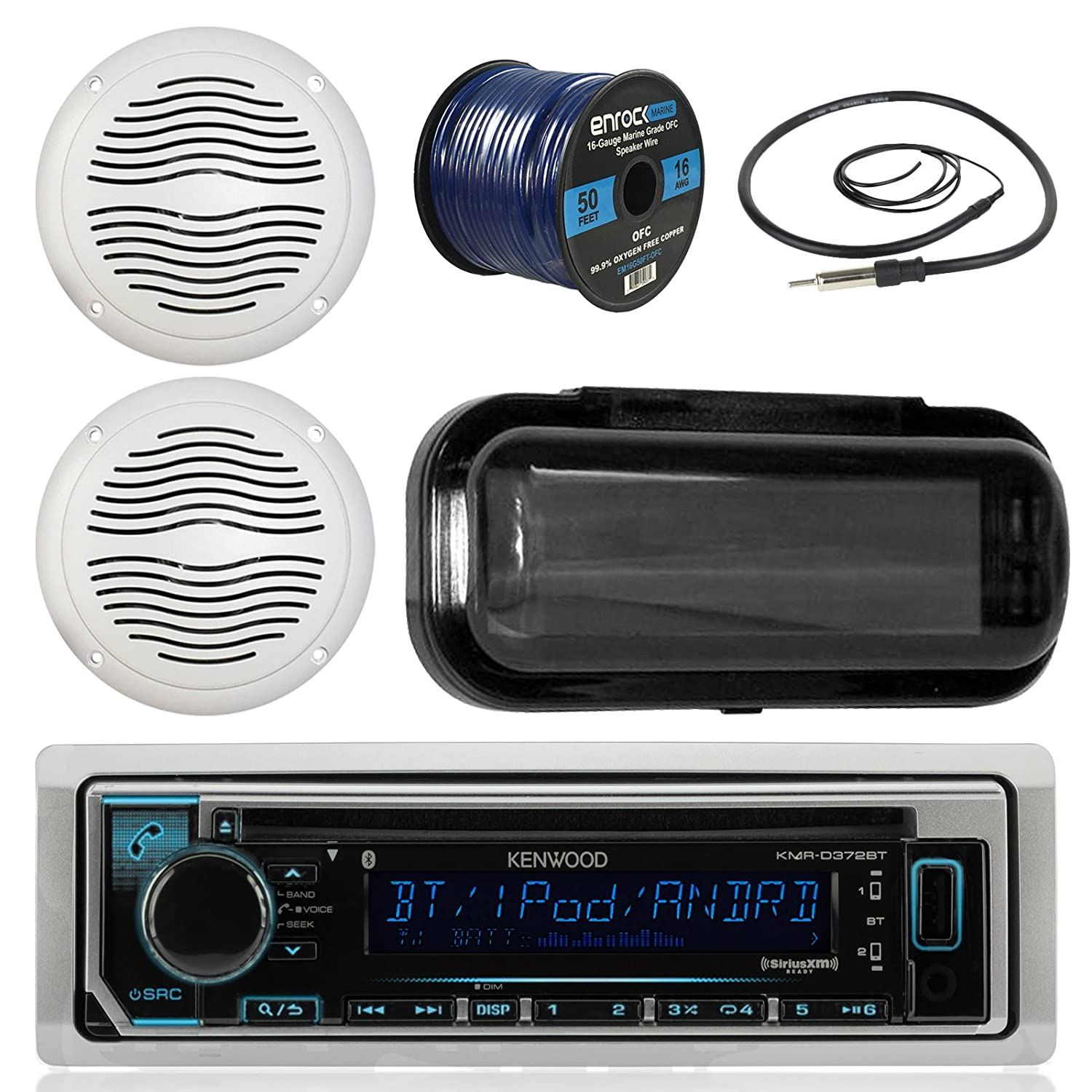 Music Player Support Aux Output with Dual USB Charging Port Wireless Radio Transmitter Car Adapter Criacr Bluetooth FM Transmitter for Car Quick Charge 3.0 Hands-Free Call for All Smartphones AMIR AMIR CP27B-CC-AUS1