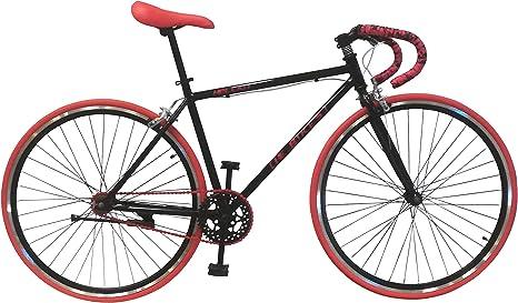 Helliot Bikes Fixie Soho H03 Bicicleta Urbana, Unisex Adulto, Negro ...
