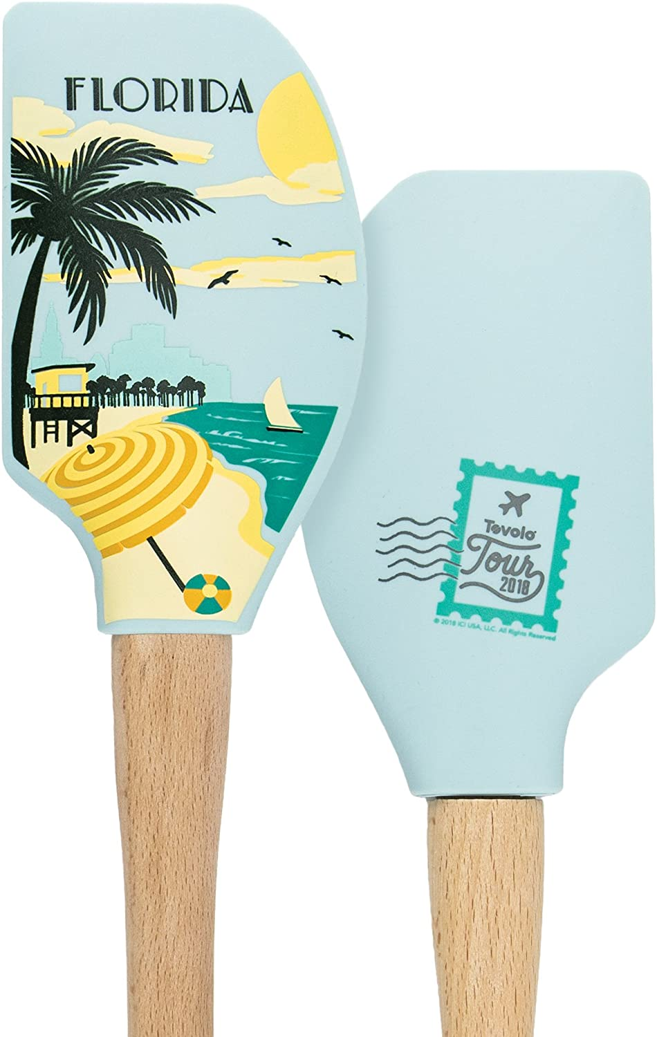 Tovolo Florida Spatulas & Turners, One Size, Wood
