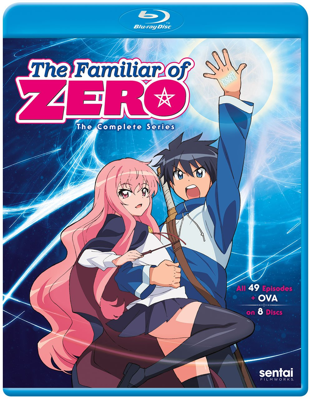 Familiar of Zero the Complete Series [Blu-ray] Rie Kugimiya eOne Yoshiaki Iwasaki Section23 Films