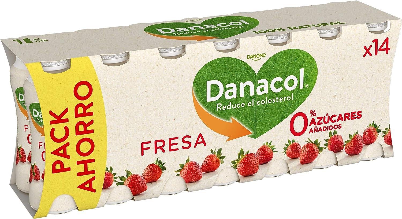 Danacol Danone Beber Fresa, 14 x 100g