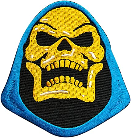 NEW UNUSED Masters of the Universe TV Series Embroidered Logo Patch