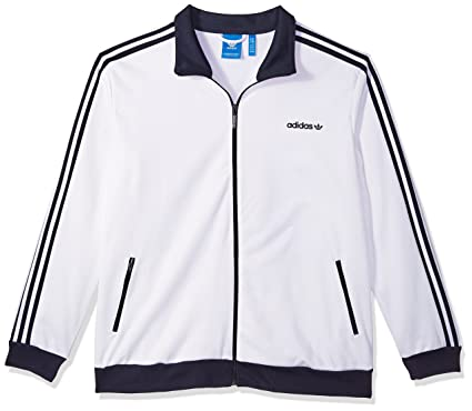 adidas Originals Men's Beckenbauer Track Top, White, XLTG