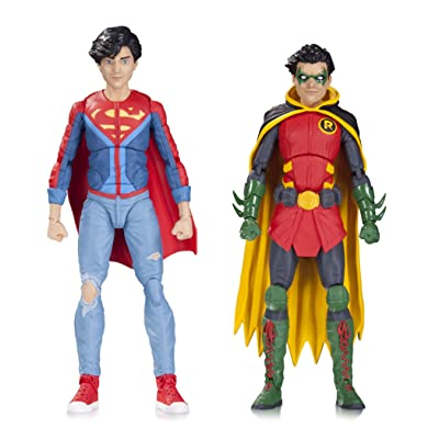 DC Collectibles Icons: Robin & Superboy Action Figure (Pack of 2): Toys & Games