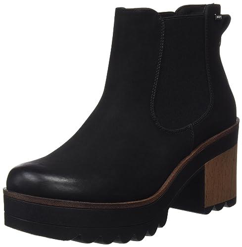 JES, Zapatos de Tacón Mujer, Negro (Shun Negro), 40 EU Mtng