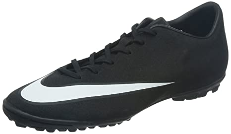 c4c4c014d3 Image Unavailable. Image not available for. Colour: Nike Men's Mercurial  Victory V Cr Tf Black/White/Neo Turq Turf Soccer Shoe