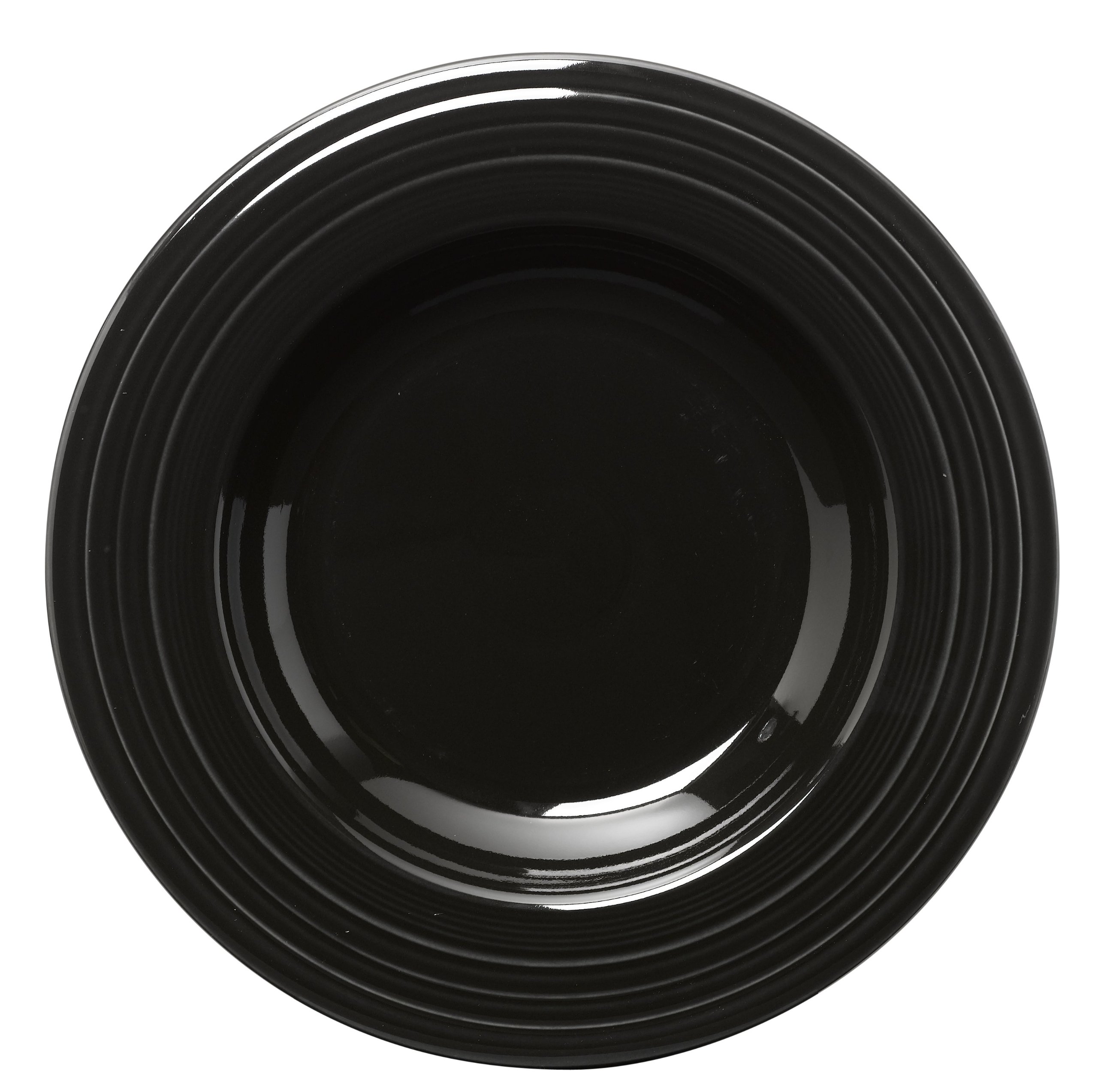 Fiesta 12-Inch Pasta Bowl, Black