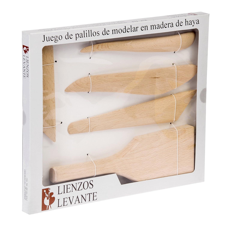 Lienzos Levante Palillos de modelar: Amazon.es: Hogar