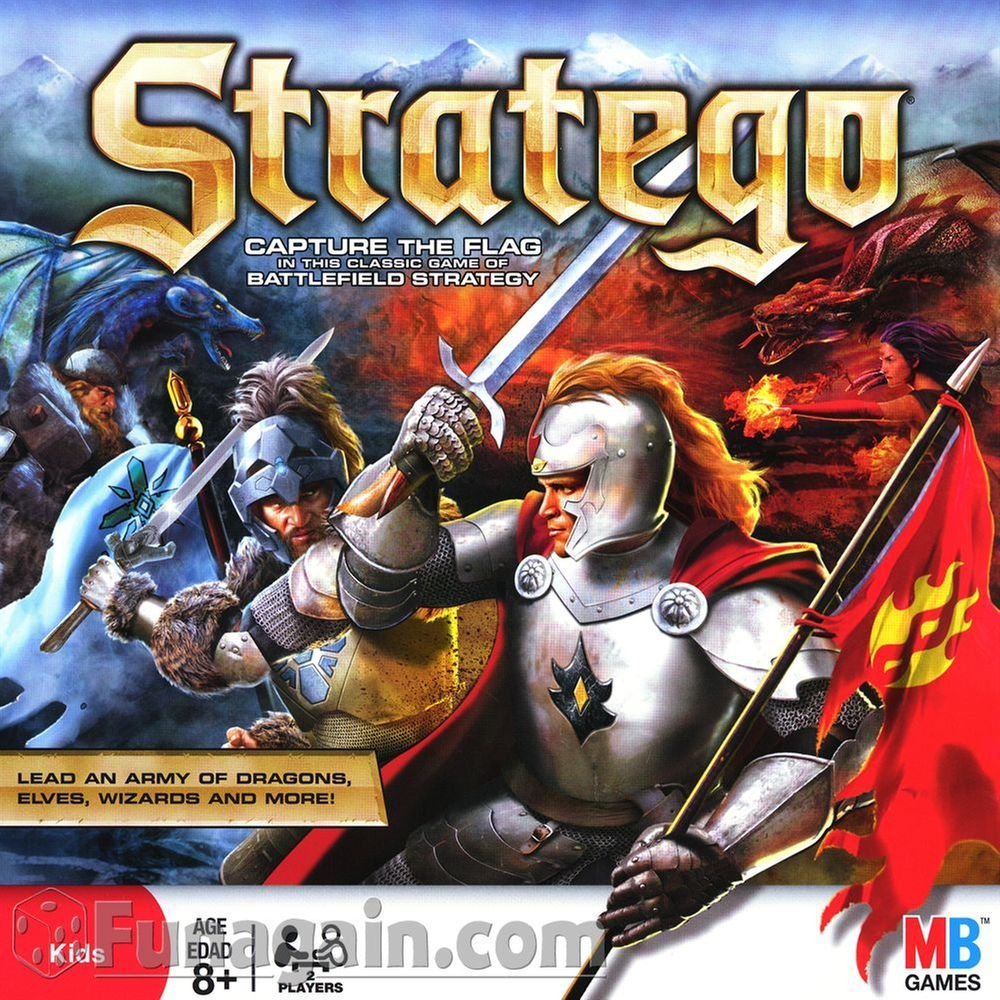 Stratego - Board Game by Milton Bradley: Amazon.es: Juguetes y juegos